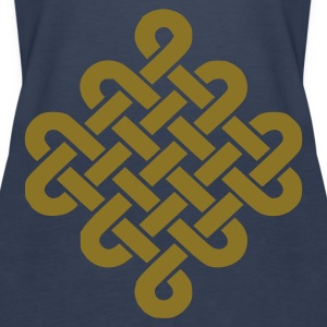 Aqua Celtic Knot Ladies' - Women's Premium Tank Top