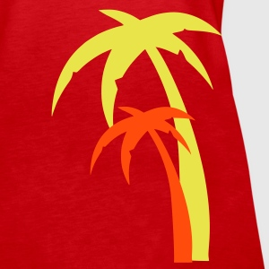 Rød Palm, Summer, Sun Topper - Premium singlet for kvinner