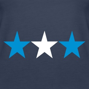Sky blue 3_stars_greece Girlie - Frauen Premium Tank Top