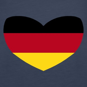 Love Germany - Women's Premium Tank Top