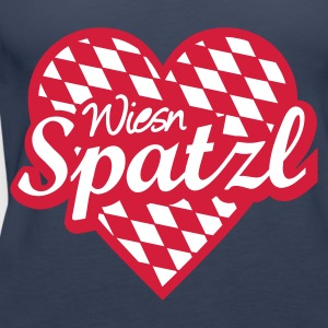 Petrol ::WIESN SPATZL:: Tops - Frauen Premium Tank Top