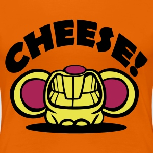 Orange Cheese! Women's Tees (short sleeved) - Women's Premium T-Shirt