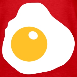 Red Fried Egg Tops - Women's Premium Tank Top