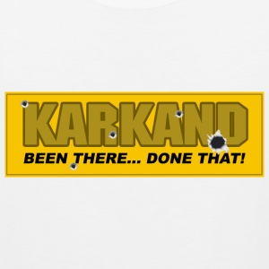 Karkand Been there done that - Mannen Premium tank top