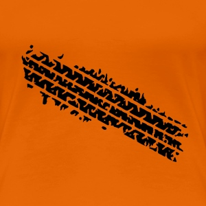 Orange ::GOT TIRED:: T-Shirts (Kurzarm) - Frauen Premium T-Shirt