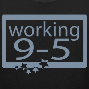 Zwart working95 T-shirts - Mannen Premium tank top