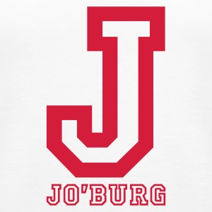 White Jo'burg, Johannesburg, South Africa Tops - Women's Premium Tank Top