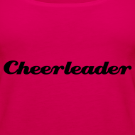 Motiv ~ Cheerleader, svart text