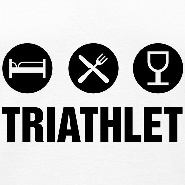 """""""Triathlet"""" Singlett for menn"""