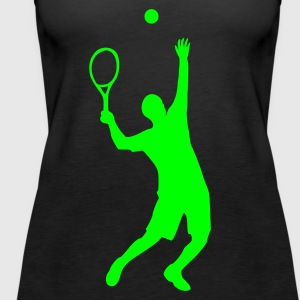 Tennis - Frauen Premium Tank Top