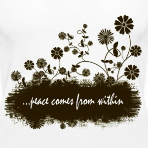 peace comes from within - Women's Premium Tank Top