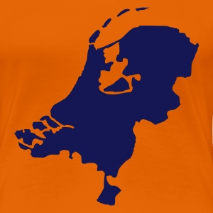 Orange Niederlande - Holland T-Shirts - Frauen Premium T-Shirt