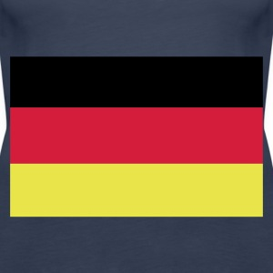 Sky blue German Flag Tops - Women's Premium Tank Top