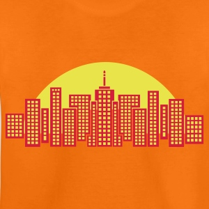 Orange Stadt  Kinder T-Shirts - Teenager Premium T-Shirt
