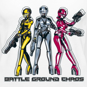 Manga Battle Ground Chaos - Frauen Premium Tank Top