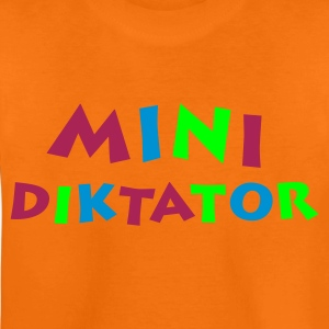 Orange Minidiktator 3farbig Kinder T-Shirts - Teenager Premium T-Shirt
