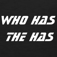 Motiv ~ who has the has - Männer Muskelshirt