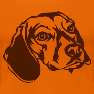 beagle - Women's Premium T-Shirt