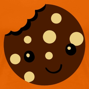 Orange cookie T-Shirts - Frauen Premium T-Shirt