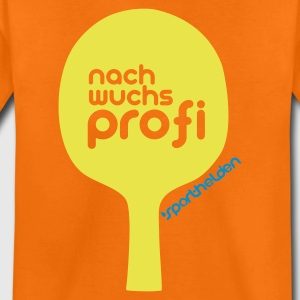 Orange tischtennis nachwuchsprofi Kinder T-Shirts - Teenager Premium T-Shirt