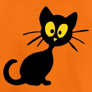 Orange Kätzchen Kinder T-Shirts - Teenager Premium T-Shirt
