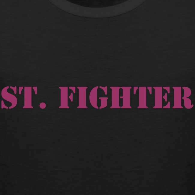 St. Fighter Muscleshirt Frontside