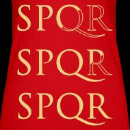 Diseño ~ Camiseta Top Spaghetti SPQR