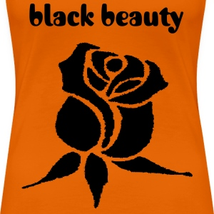 Orange Rose T-Shirts - Frauen Premium T-Shirt