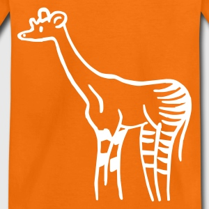 Orange Okapi Kinder T-Shirts - Teenager Premium T-Shirt