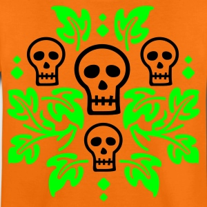 Halloween Day of the Dead Skulls - Teenage Premium T-Shirt