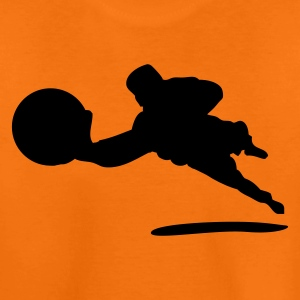Orange Keeper Torwart gardien de but DE Kids' Shirts - Teenage Premium T-Shirt