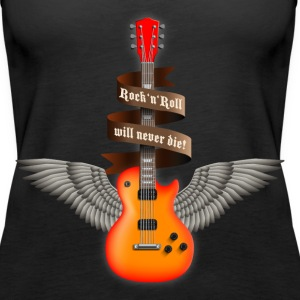 rock_guitar_a_red Top - Canotta premium da donna