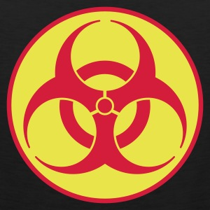 Nero biohazard 2 color IT T-shirt - Canotta premium da uomo