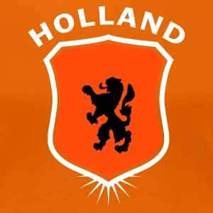 Orange Wappen Holland 1 T-Shirts - Frauen Premium T-Shirt
