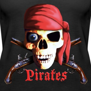 dead_pirate_guns Top - Canotta premium da donna