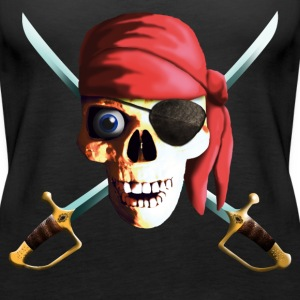 dead_pirate_saber Top - Canotta premium da donna