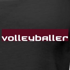 volleyballer burgundy - Frauen Premium Tank Top