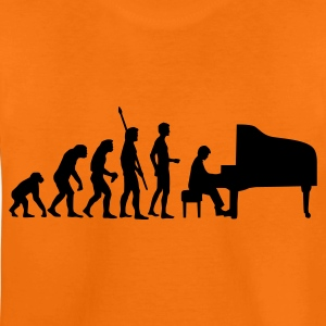 evolution_pianist Shirts - Teenager Premium T-shirt