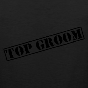 Olive Top Groom Men's T-Shirts - Men's Premium Tank Top