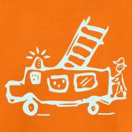 Motiv ~ Feuerwehr (power reflex) - Kinder T Shirt klassisch