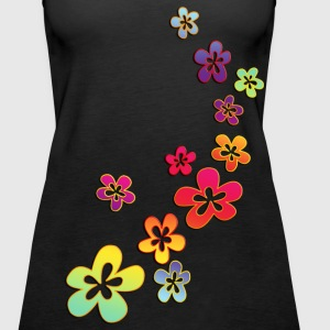 FLOWER POWER - Frauen Premium Tank Top