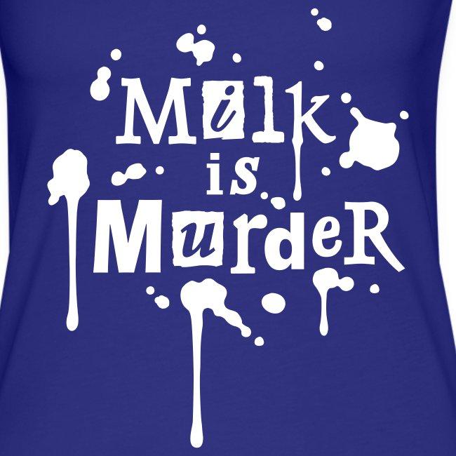 Womens Tank-Top 'MILK is Murder' R