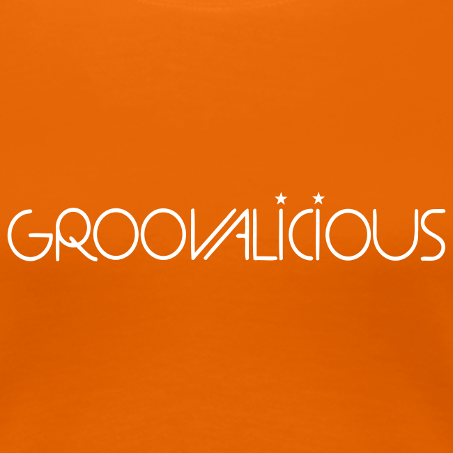 Groovalicious 2012 Girlie-Shirt