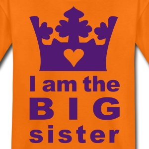 I am the Big Sister - Teenage Premium T-Shirt