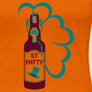 Orange st patty bottle (2c) T-shirts - T-shirt Premium Femme