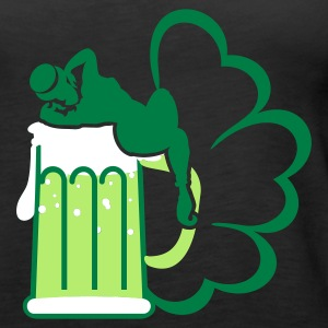 Svart st patrick beer 'n girls (3c) Topper - Premium singlet for kvinner