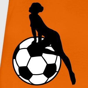 Orange Jungfrau am Ball 2 - 2C T-Shirts - Frauen Premium T-Shirt