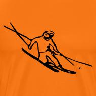 Design ~ Telemark Skier Tee