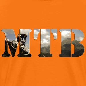 MTB - Mountain Bike Shirt - Men's Premium T-Shirt