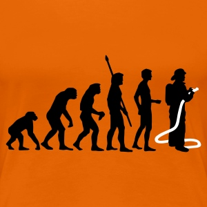 evolution firefighter T-shirts - Premium-T-shirt dam